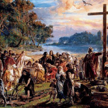 """WIERSZE: """"Chrzest Polski 1050 rocznica"""" – Leszek Jan Rogalski"""