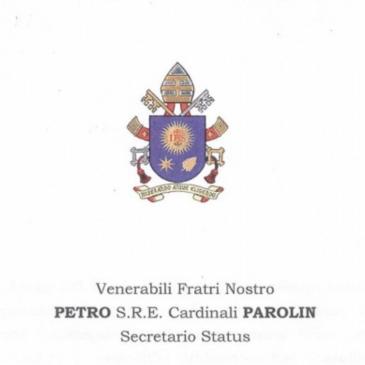 List Ojca Świętego do legata papieskiego na uroczystości 1050. rocznicy chrztu Polski